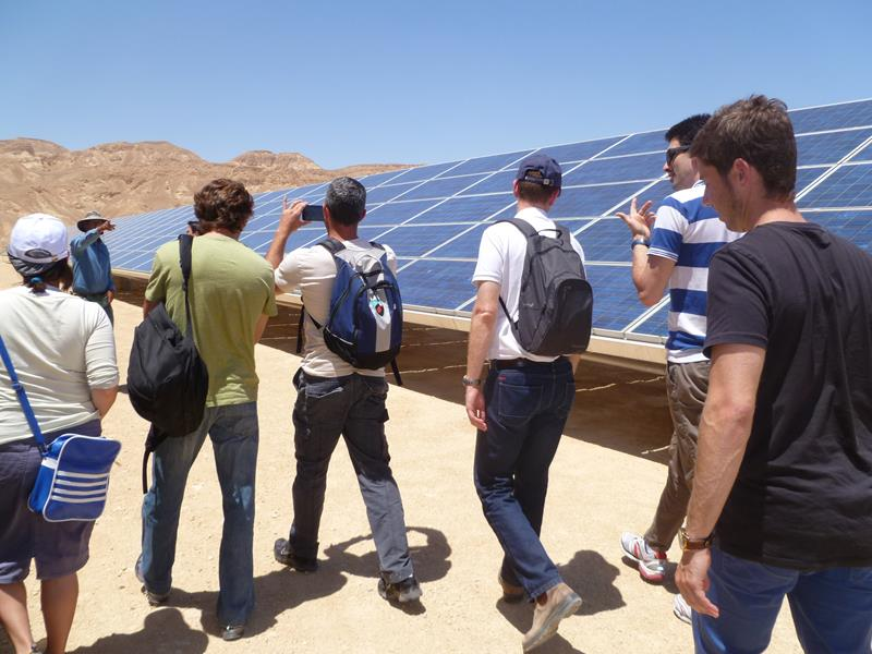 Visit to solar field