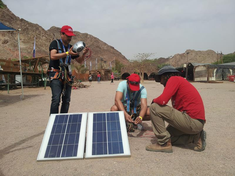 Teacher training in renewable energy