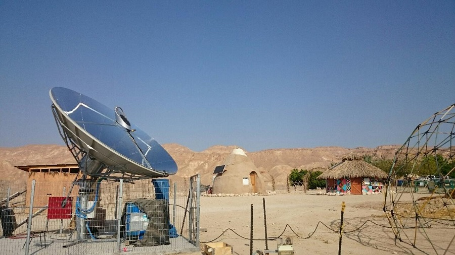 SunDwater Water Desalination in Eilat Eilot's off grid village