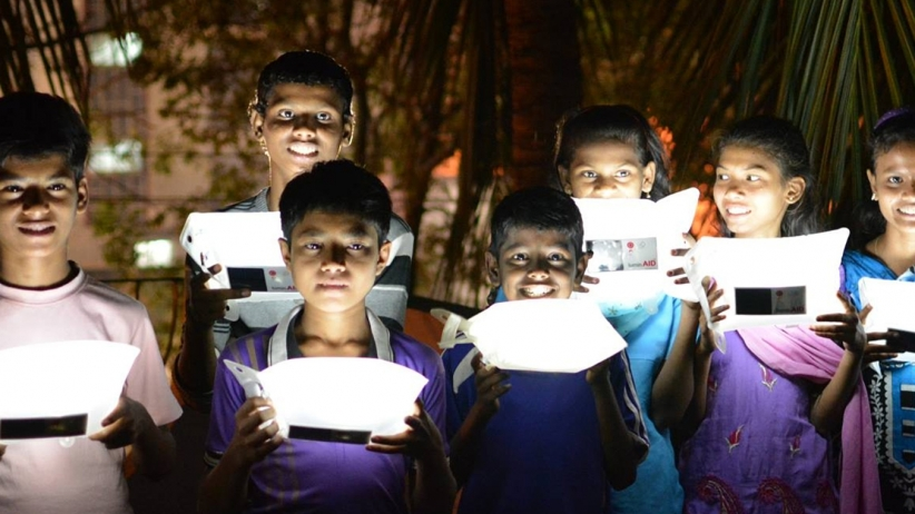 LuminAID solar lighting