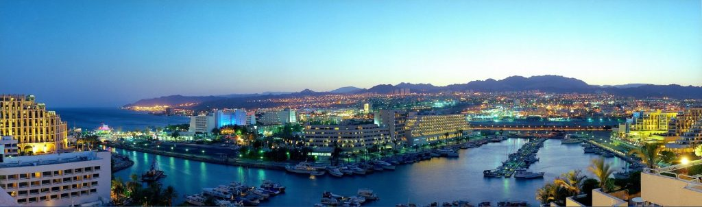 View of Eilat city
